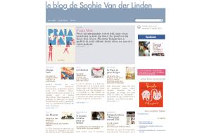 Visit Sophie Van der Linden's blog !