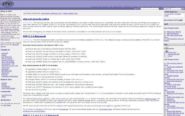 Visit PHP web site !