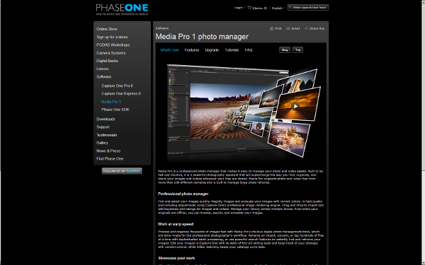 Visit Phase One Media Pro product's web page !