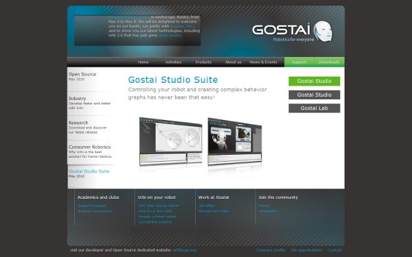 Visit GOSTAI web site !