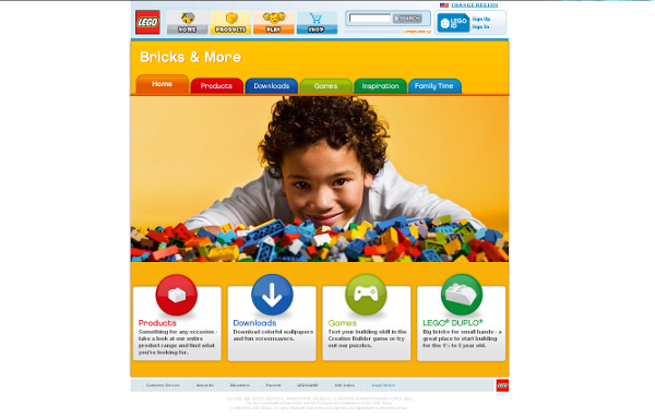 Visit LEGO Brick & More web site !