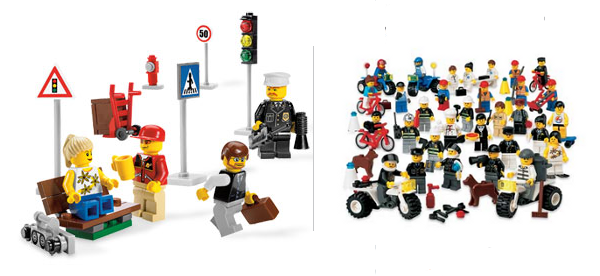 LEGO Minifigures Collection & Community Workers