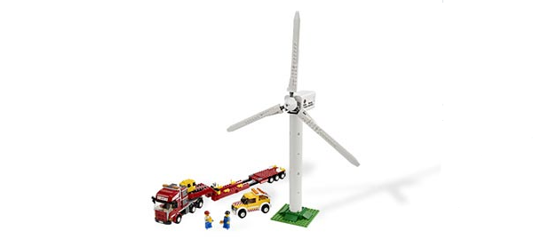 LEGO Wind Turbine Transport