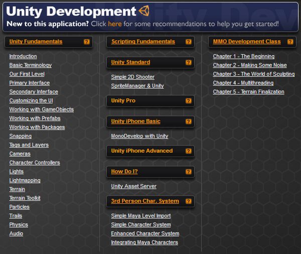 Explore 3D Buzz's Unity Development section !