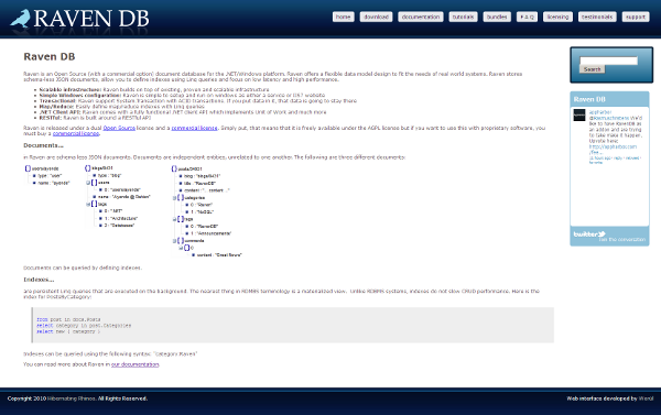Visit RavenDB web site !