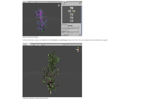 Learn to create trees with the Unity Tree Creator !